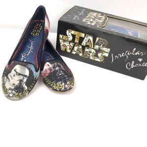 Irregular Choice Star Wars The Dark Side Flats 8.5